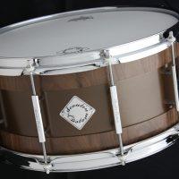 Acoutin Custom Ksenia Stave Black Walnut / Brass finished in Satin Bronze